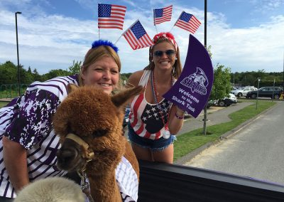 Jess and Mary Beth on the 4th