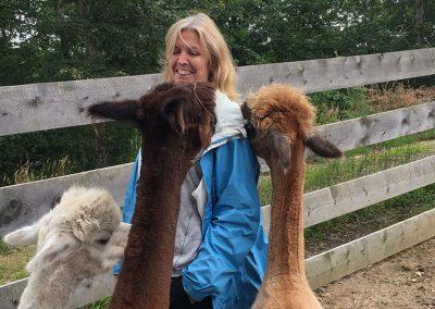 Nancy & Alpacas